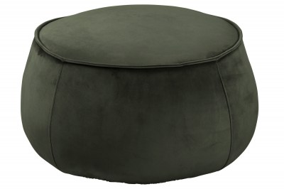 Designová taburetka Nara tmavě zelená