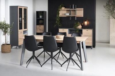 Designová vitrína Aakil, 181 cm