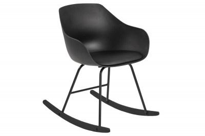 Designové houpací křeslo Nerys černé