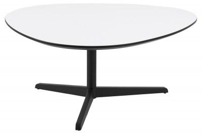 Designový konferenční stolek Ahab 103 cm bílá