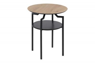 Designový odkládací stolek Aitor divoký dub