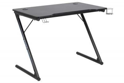 Designový psací stůl Naretha 100 cm černý