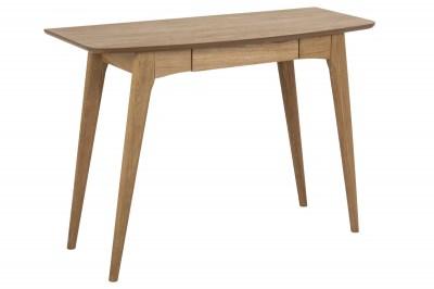 Designový psací stůl Narnia 105 cm olejovaný dub