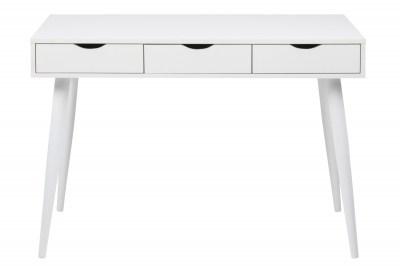 Designový psací stůl Nature 110 cm bílý