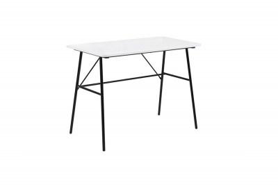 Designový psací stůl Nava 100 cm bílý 2