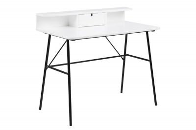Designový psací stůl Nava 100 cm bílý