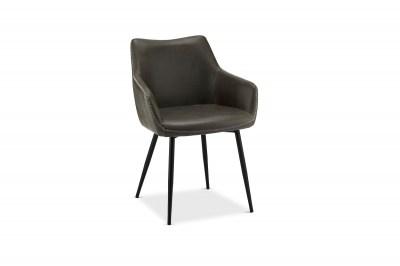 Elegantní židle Abacus, šedá