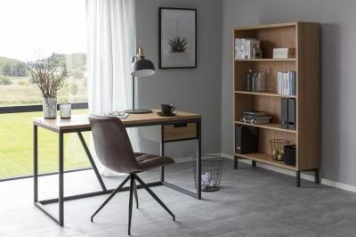 Elegantná stolička Aldous, hnedá