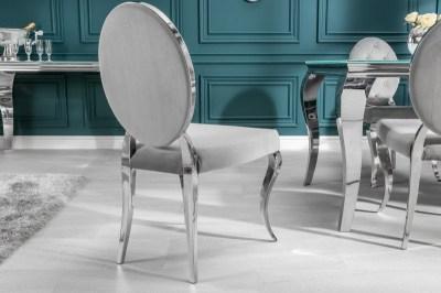 Designová židle Rococo II šedá
