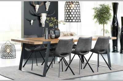 Jídelní stůl Annie 240 cm / přírodní-černá