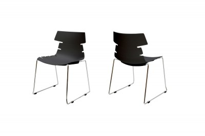 Designová stolička Dollie / černá