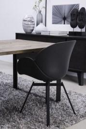 Dizajnová stolička Olive / čierna