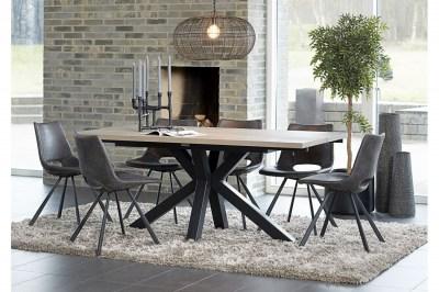 Designová stolička Izabella / béžová-černá