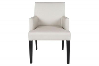 Jedálenská stolička Marta s podrúčkami / béžová