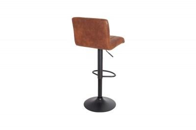 Barová stolička Pretty vintage hnedá / 109 cm