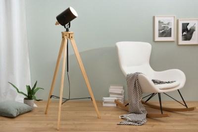 Designová stojanová lampa Telescope / černá