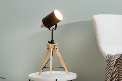 Designová stolní lampa Telescope / černá