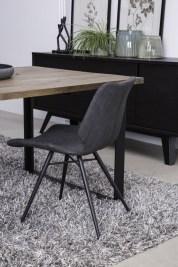 Jedálenská stolička Alana / čierna