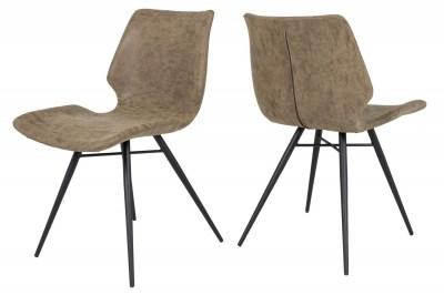 Jedálenská stolička Alana / hnedá