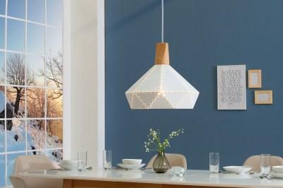 Závěsné svítidlo Sweden / bílá
