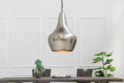 Závěsná lampa Oriental II / stříbrná - měď
