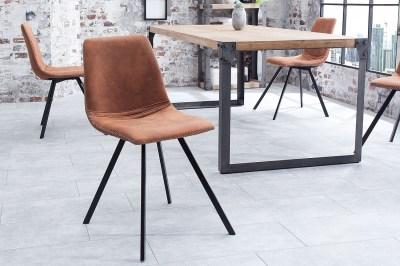 Designové židle Rotterdam Retro / světle hnědá