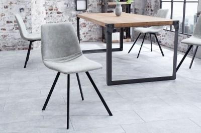Designová stolička Rotterdam Retro / šedá