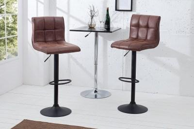 Barová židle Modern 95-115 cm / vintage hnědá