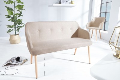 Designová lavice Sweden přírodní
