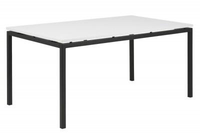 Jedálenský stôl Nahia 160 cm biely