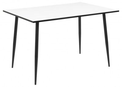 Jedálenský stôl Nayeli 120 cm biely