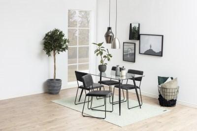 Jídelní stůl Nayeli 140 cm sklo