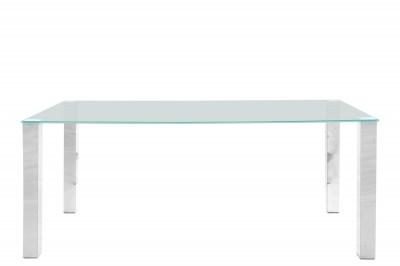Jedálenský stôl Nefertari 180 cm sklo