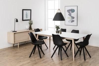 Jídelní stůl rozkládací Nadia 200/300 cm bílý