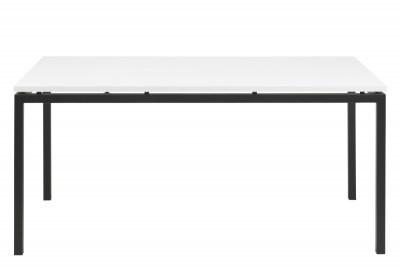 Jedálenský stôl rozkladací Nahia 160/210 cm biely