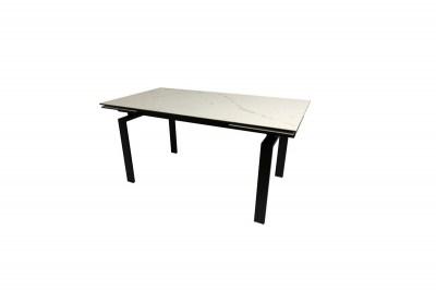 Jídelní stůl rozkládací Neema 160/240 cm bílé sklo