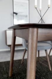 Jedálenský stôl rozkladací Nicki 180/219,5 cm Orech