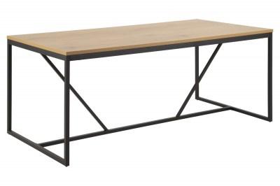 Jídelní stůl Naja 180 cm dub - černý