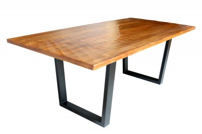 Jídelní stůl Shayla 200 cm hnědý - mango