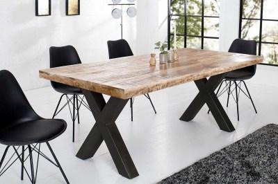 Jídelní stůl Thunder 160 cm přírodní - mango