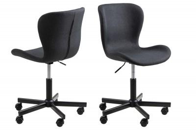 Kancelářská židle Nasrin antracitová