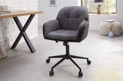 Kancelářská židle Joe šedá antracitová