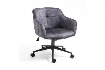 Kancelářská židle Natasha tmavě šedá