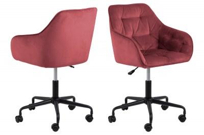Kancelářská židle Alarik korál