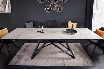 Roztahovací keramický stůl Callen 180-220-260 cm šedý