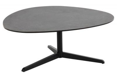Keramický konferenční stolek Ahab 100 cm černý