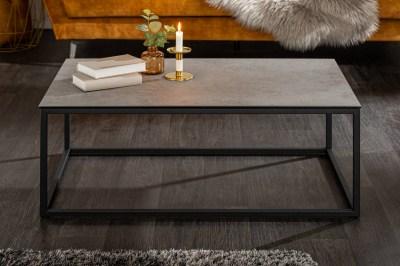 Keramický konferenční stolek Sloane 100 cm beton
