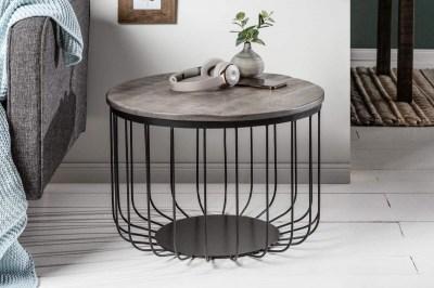 Konferenční stolek Unity Loft 56 cm šedá akácie