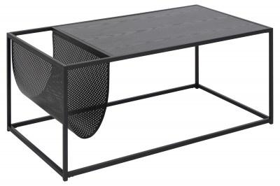 Konferenční stolek s držákem Akello tmavý popel