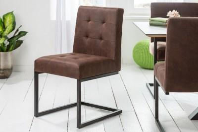 Konzolová židle Cowboy vinatge hnědá